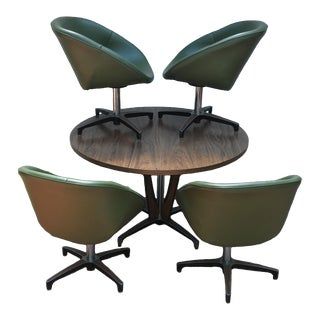 Chromcraft Mid Century Dining Set