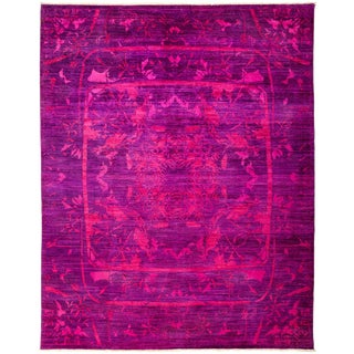 """Vibrance Hand Knotted Area Rug - 8'1"""" X 10'3"""""""