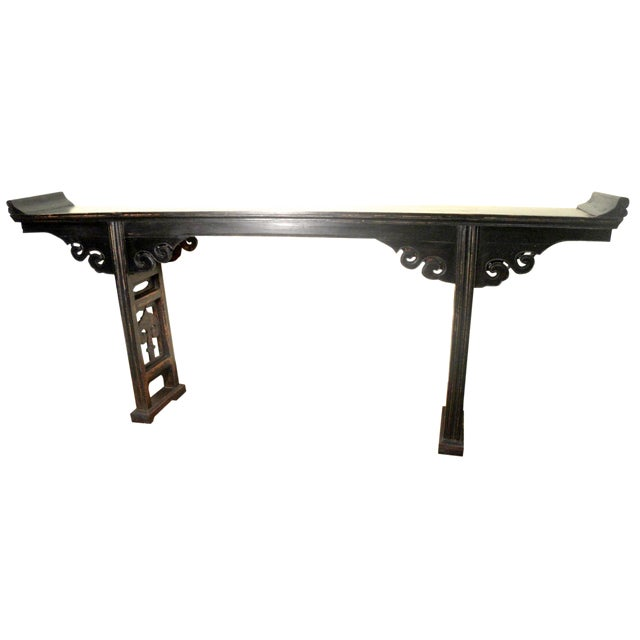 19th-Century Chinese Altar Table - Image 1 of 10