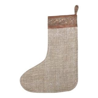 Custom Fortuny Christmas Stocking