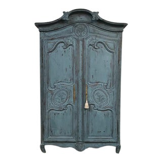 Blue Normandy Armoire