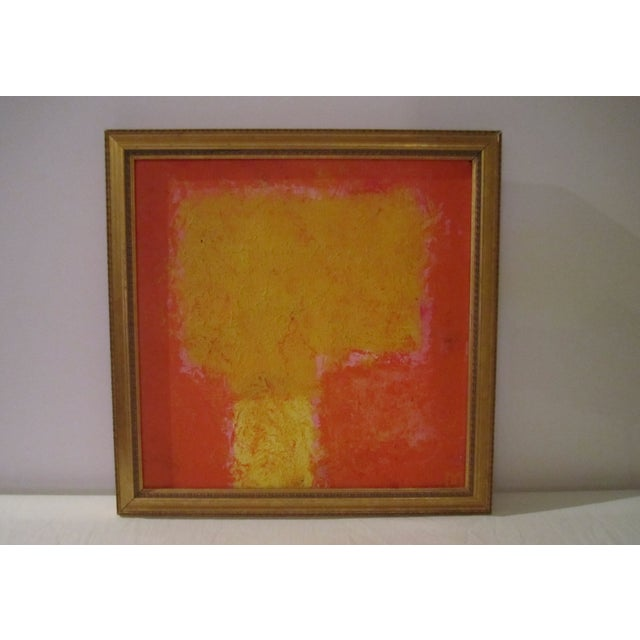 Abstract Painting Paris Signed Framed Acrylic - Image 5 of 11