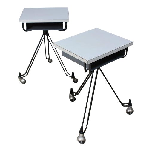 Image of Pair of Eliot Noyes IBM Tables