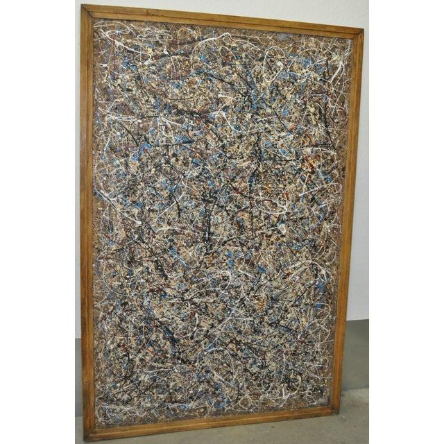 Image of Thomas R. Williams Original Abstract Painting