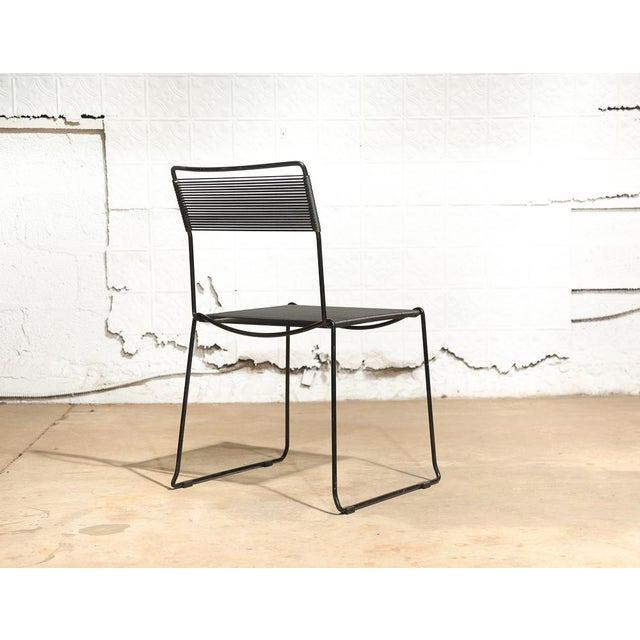 "Giandomenico Belotti for Fly Line ""Spaghetti Chairs"" - Set of 4 - Image 5 of 10"
