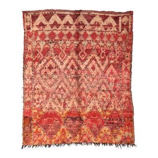 Vintage Moroccan Boujad Rug - 7′ × 7′7″