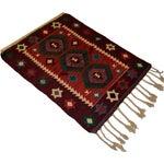 Image of Hand-Woven Turkish Flatweave Rug - 2′7″ × 3′7″