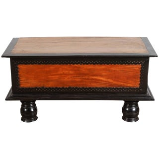 18th Century Sri Lankan Satinwood Trunk