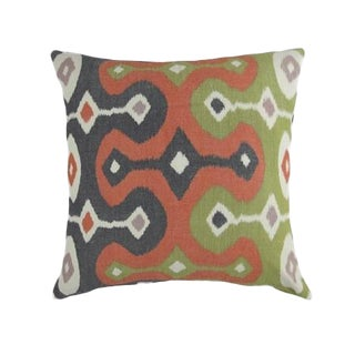 Multi-Color Ikat Designer Pillow Cover