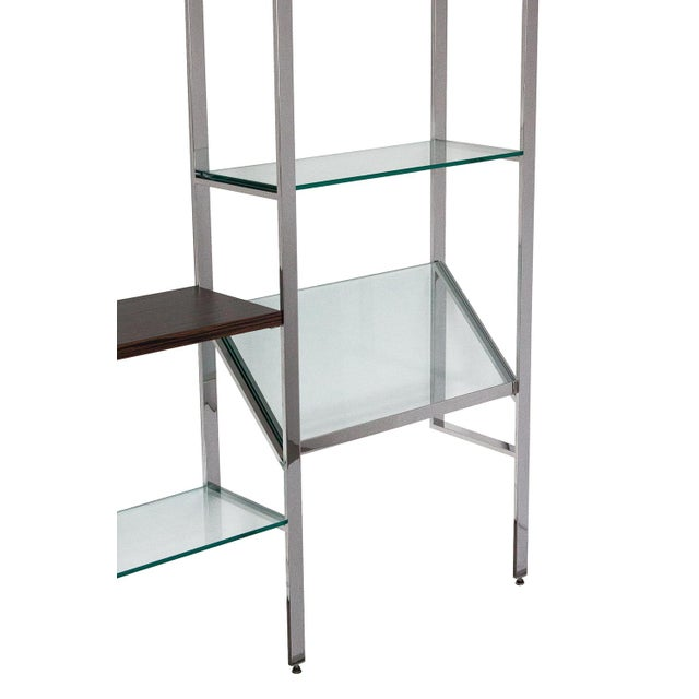 Milo Baughman Wall Mounted Shelving System - Image 7 of 10