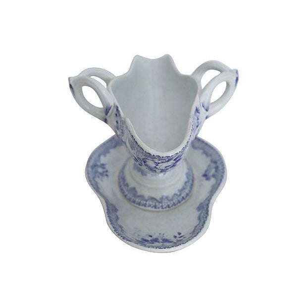 Antique French Lavender Double Spout - Image 3 of 4