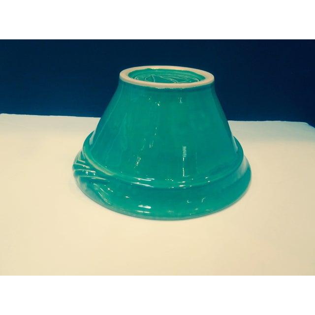Large Sage Green Mixing Ceramic Bowl - Image 4 of 6