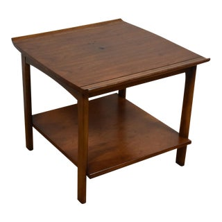 Lane Furniture Walnut Side Table