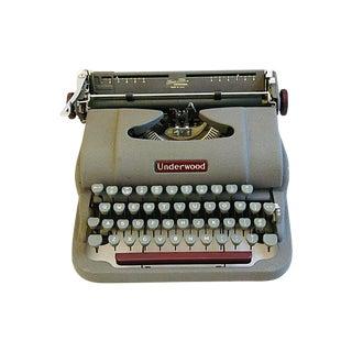 Mid-Century Underwood Typewriter & Case