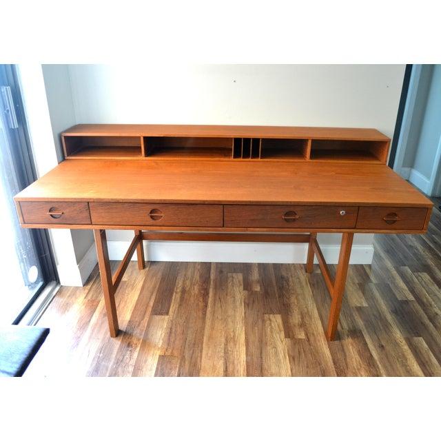 Jens Quistgaard for Lovig Flip-Top Desk - Image 2 of 11
