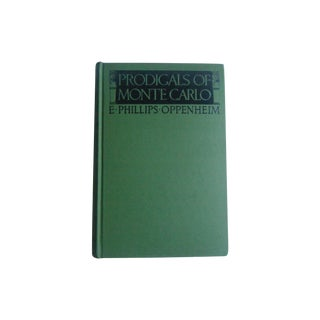 Prodigals of Monte Carlo, Vintage 1920s Book