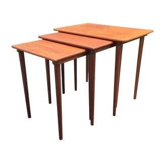 Madsen Danish Modern Nesting Tables - Set of 3