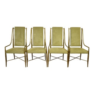 Jansen Style Mastercraft Dining Room Chairs - Set of 4
