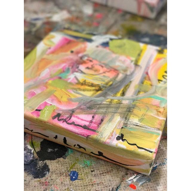 """Kerri Rosenthal """"Dream Dream"""" Original Painting - Image 3 of 4"""
