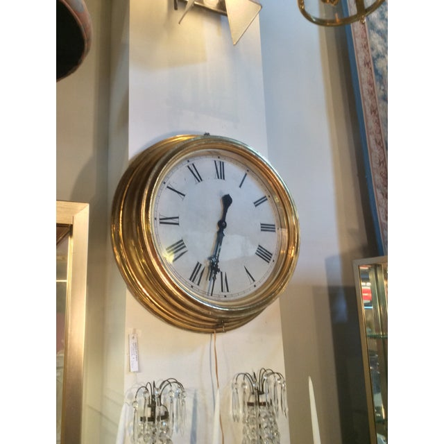 Image of Antique Giltwood Clock