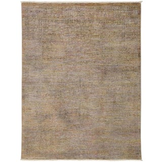 """Vibrance, Hand Knotted Contemporary Wool Area Rug - 4' 2"""" X 5' 5"""""""