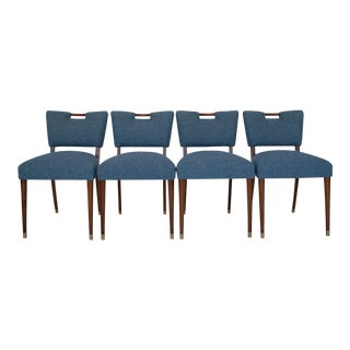 Barzilay Mid-Century Dining Chairs - Set of 4