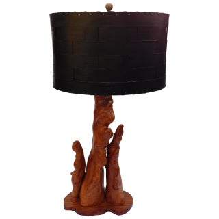 Vintage Cypress Knee Root Lamp