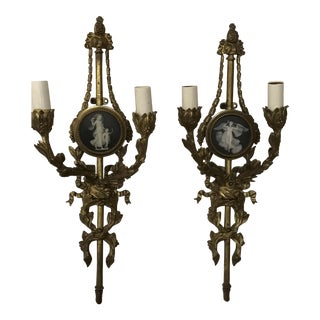 Wedgewood Wall Sconces