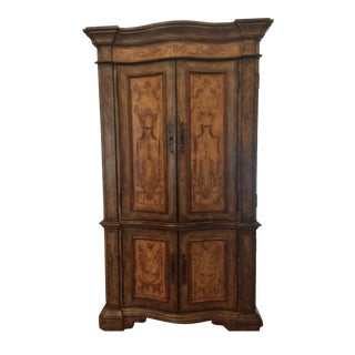 Solid Wood Decorative Armoire