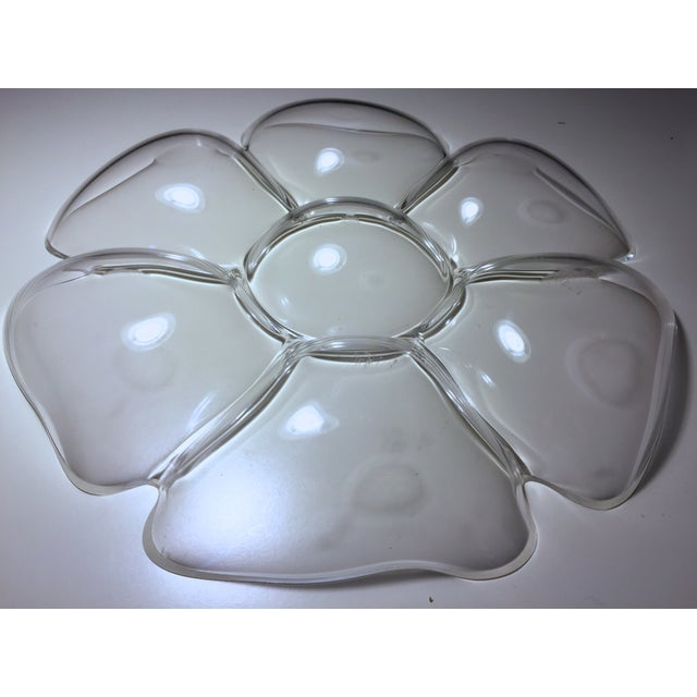 Vintage Lucite Flower Tray - Image 5 of 6