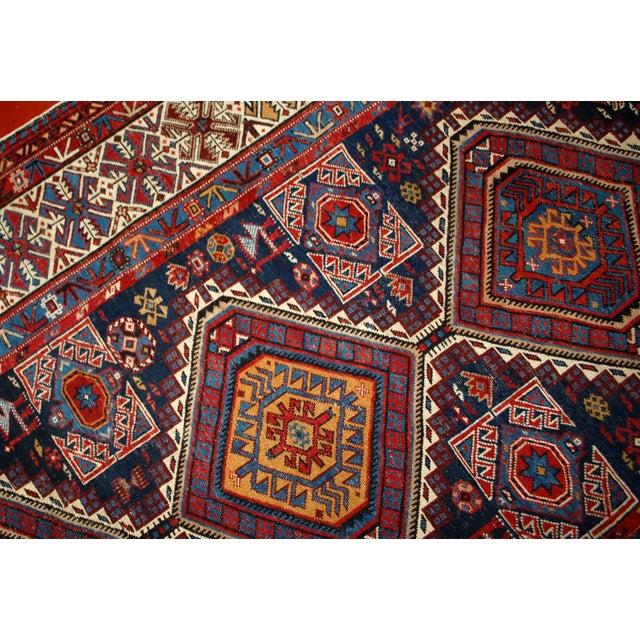Antique Caucasian Shirvan Rug- 4′9″ × 7′10″ - Image 5 of 10