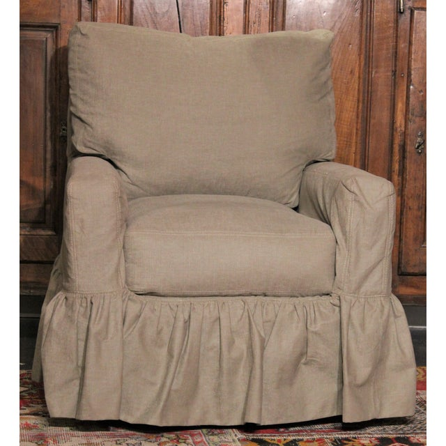 Swivel Glider Chair by Lee Industries - Image 2 of 4