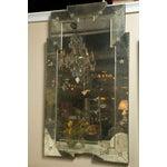 Image of Art Deco Style Distressed Venetian Mirrors - Pair