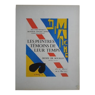 Matisse Mid 20th Century Modern Lithograph-Mourlot