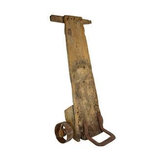 Vintage European Rustic Hand Cart