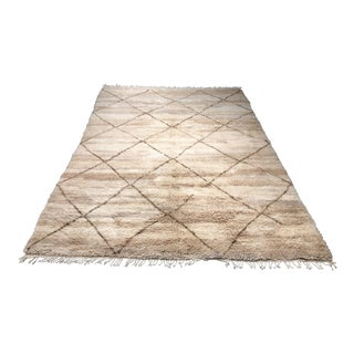 "Bellwether Rugs Organic Wool Moroccan Rug - 5' x 8'4"""