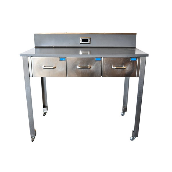 Image of Medical Workbench with 3 Drawers