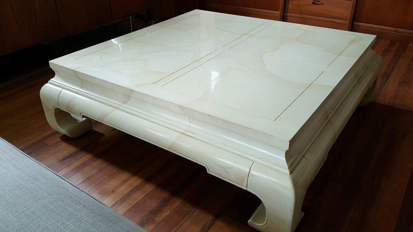 Vintage Ming Style Coffee Table by Henredon Chairish