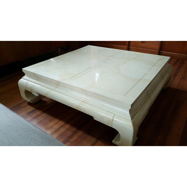 Vintage Ming Style Coffee Table by Henredon - Image 2 of 5