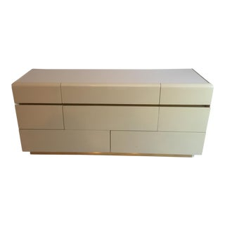 Mid-Century Almond Colored Lane Lacquered Dresser