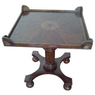 Starburst Veneer Table