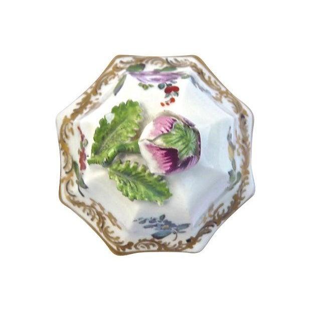 Antique Meissen Floral Lidded Jar - Image 5 of 7