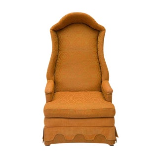 Drexel Hooded Wingback Chair