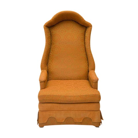 Image of Drexel Hooded Wingback Chair