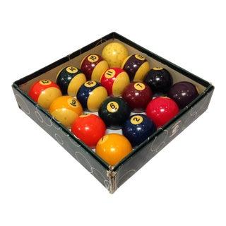 Vintage Belgian Aramith Billiard Pool Balls