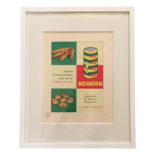 1957 Italian Novapan Advertising Print - Image 1 of 4