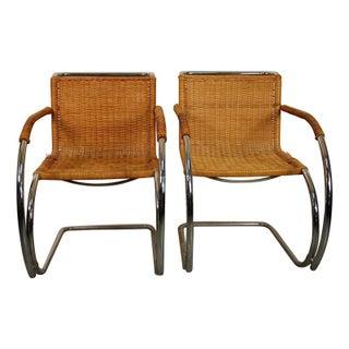 Mies Van Der Rohe MR-20 & B-42 Chairs - Set of 10