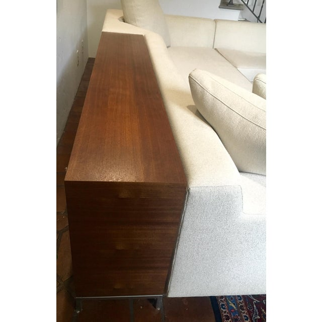Vioski Shea Sectional With Walnut Console - Image 10 of 13