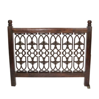 Cast Iron Jali Headboard
