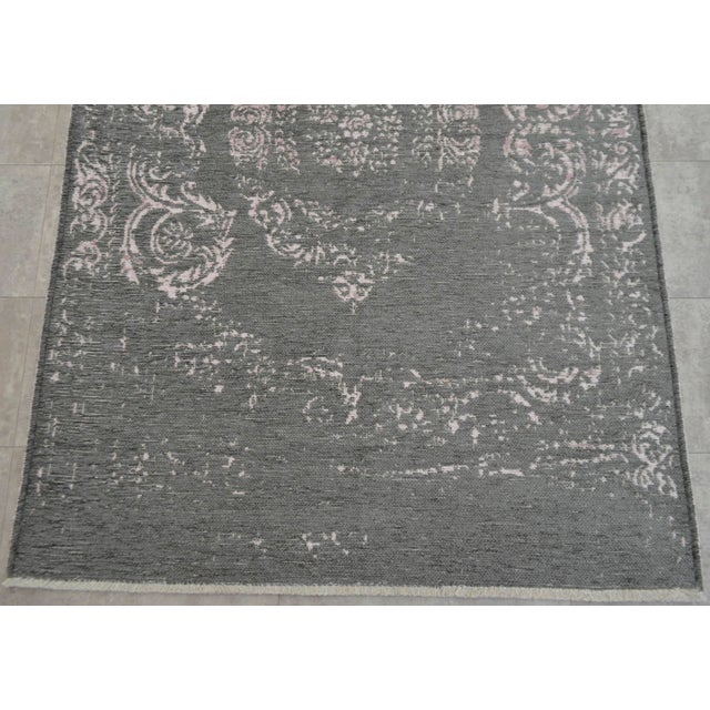 Gray Overdyed Turkish Rug - 3′11″ X 5′11″ - Image 7 of 9